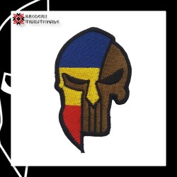 Emblema Spartan Punisher...